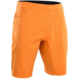 ION Paze Short de cyclisme Homme, riot orange